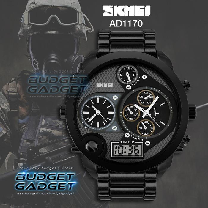 Jam Tangan Pria SKMEI Casio Man Sport Water Resistant 30M - AD1170