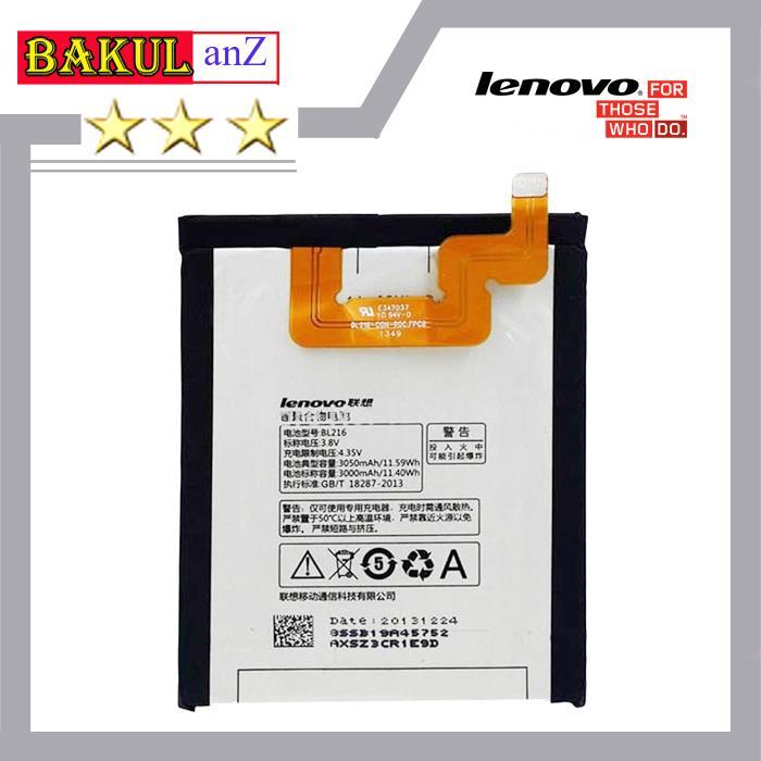 Baterai Batre Hp Lenovo BL216 Untul Lenovo K910 Vibe - batu Battery handphone Lenovo Bl216 BL