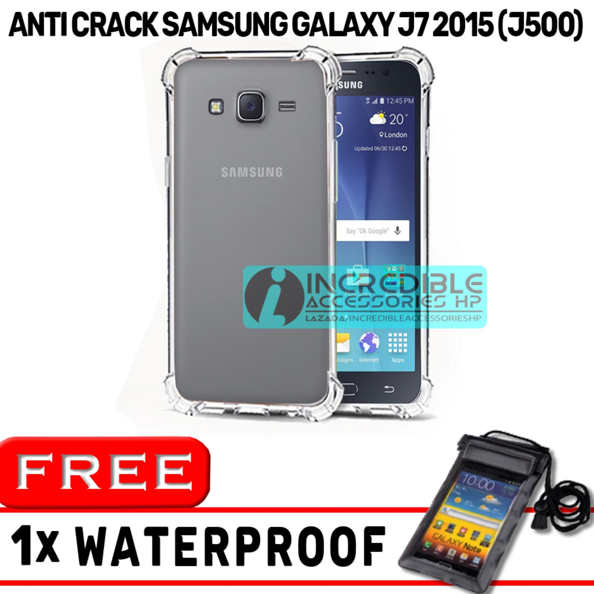 Anti Crack for Samsung Galaxy J7 2015 (J700) Softcase Elegant Anti Shock Jelly Case