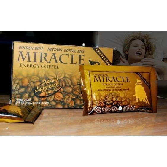 Harga Kopi Miracle Coffee Miracle Penambah Stamina Pria Dewasa Coffee Terbaik