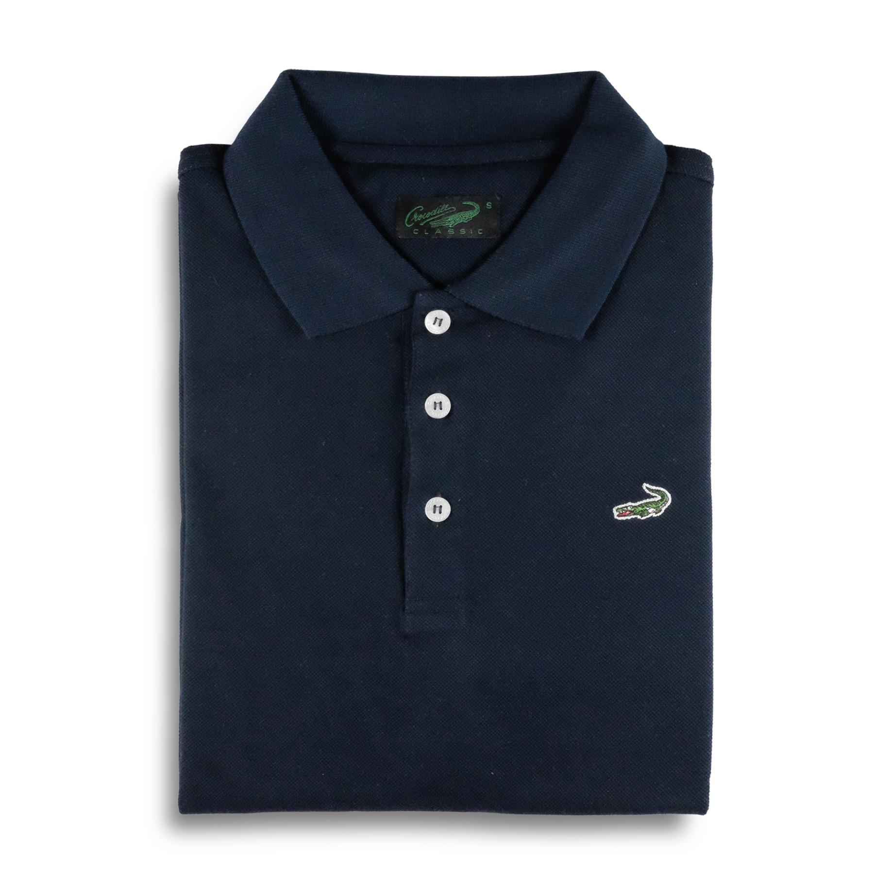 Diskon Clas Dark Navy Baju Pria Crocodile Men Polo Shirt Bahan Katun 100 Cotton Crocodile