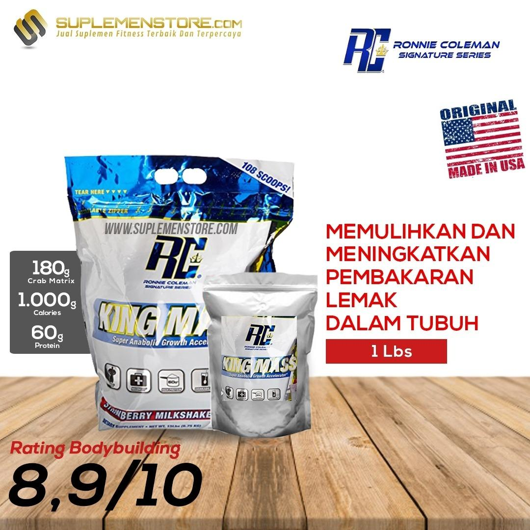 Review Ronnie Coleman King Mass Eceran 1 Lbs Ronnie Coleman