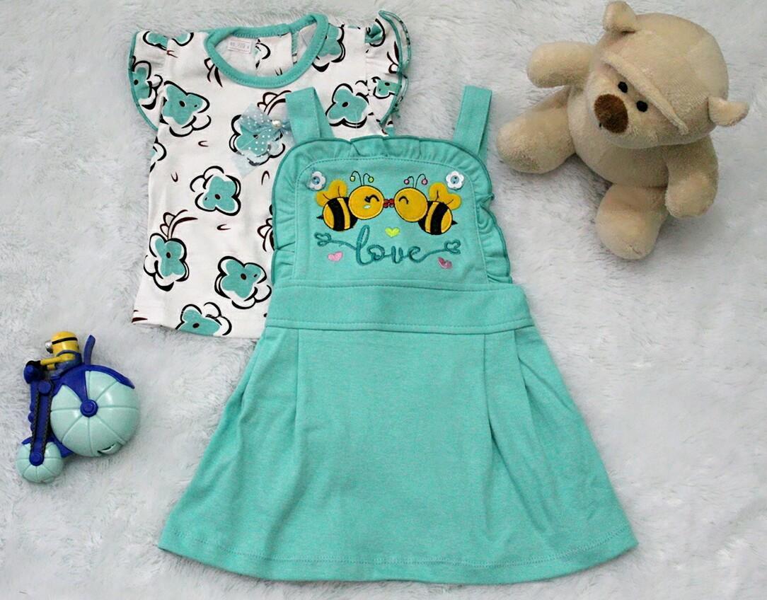 Kehebatan Mutiara Strawberry Ladybug Anak Ayam Dan Harga Update Kaos Mangkok Mie Kids Setelan Jumpsuit Baju Bayi Lovely 3