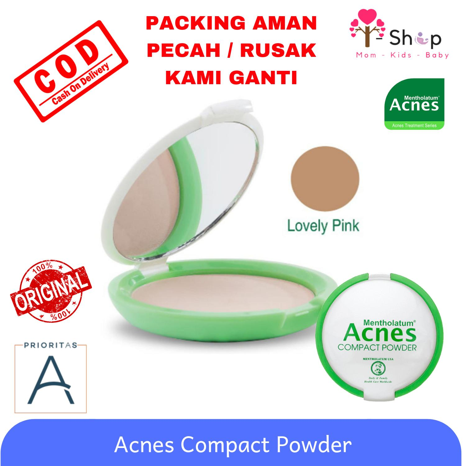 Acnes Compact Powder Acne Treatment Series / Bedak Padat / Bedak Kulit Berjerawat