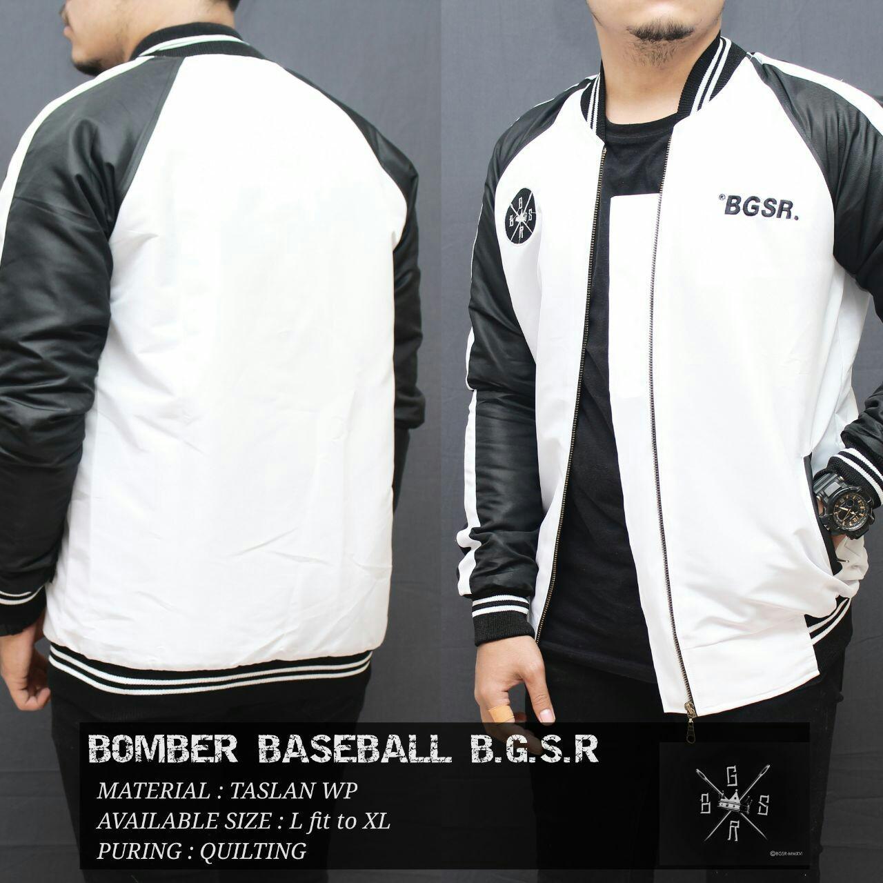 Bomber Baseball Bgsr Best Er. Atta Clothing / fashion pria / pakaian .