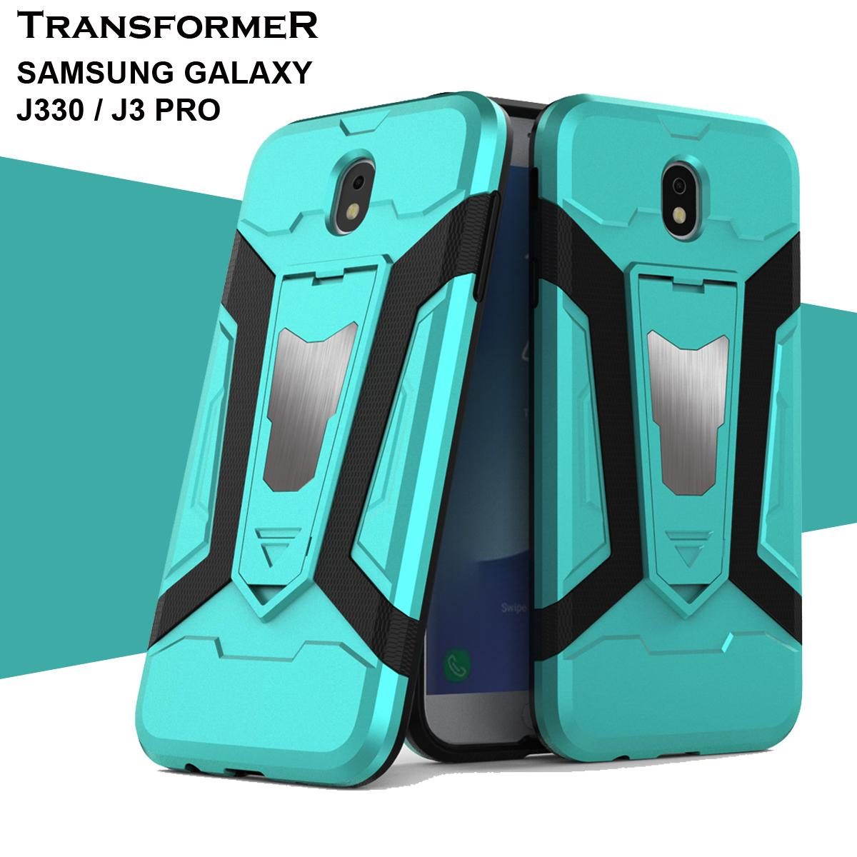 Case Iron Man for Samsung Galaxy J3 Pro / J330 / SAMSUNG J3 PRO Robot Transformer