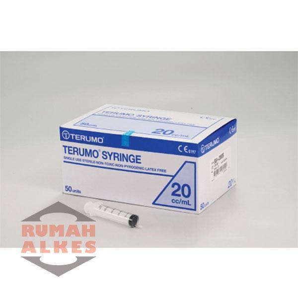 Syringe 20 Cc Terumo . Suntikan 20 Cc Terumo Disposible. Spl