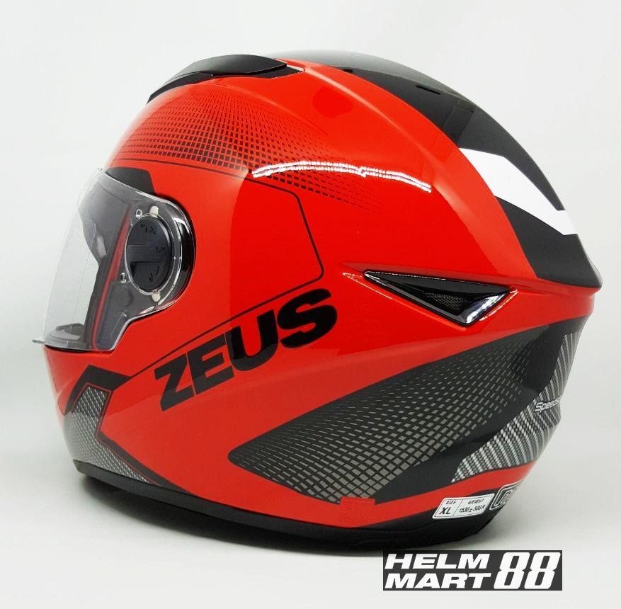 Helm Zeus 811 AL6 Helm Full Face ZS811 - 3