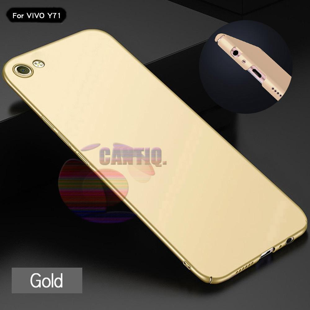Case Vivo Y71 Hard Slim Gold Mate Anti Fingerprint Hybrid Case Baby Skin Vivo Y71 Baby