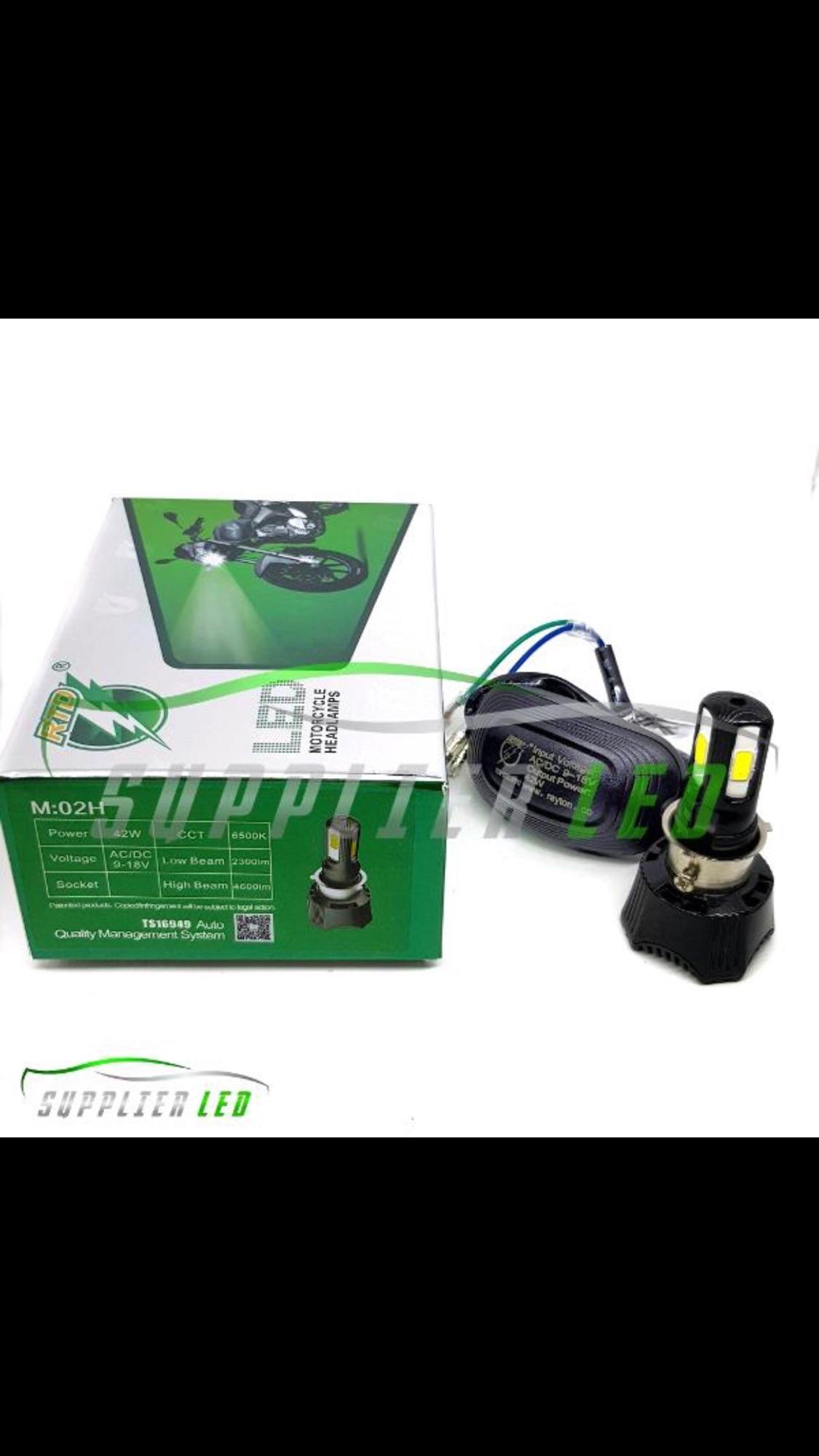 Lampu LED 4 sisi RTD 40 Watt  (4400 LUMENS)  AC-DC