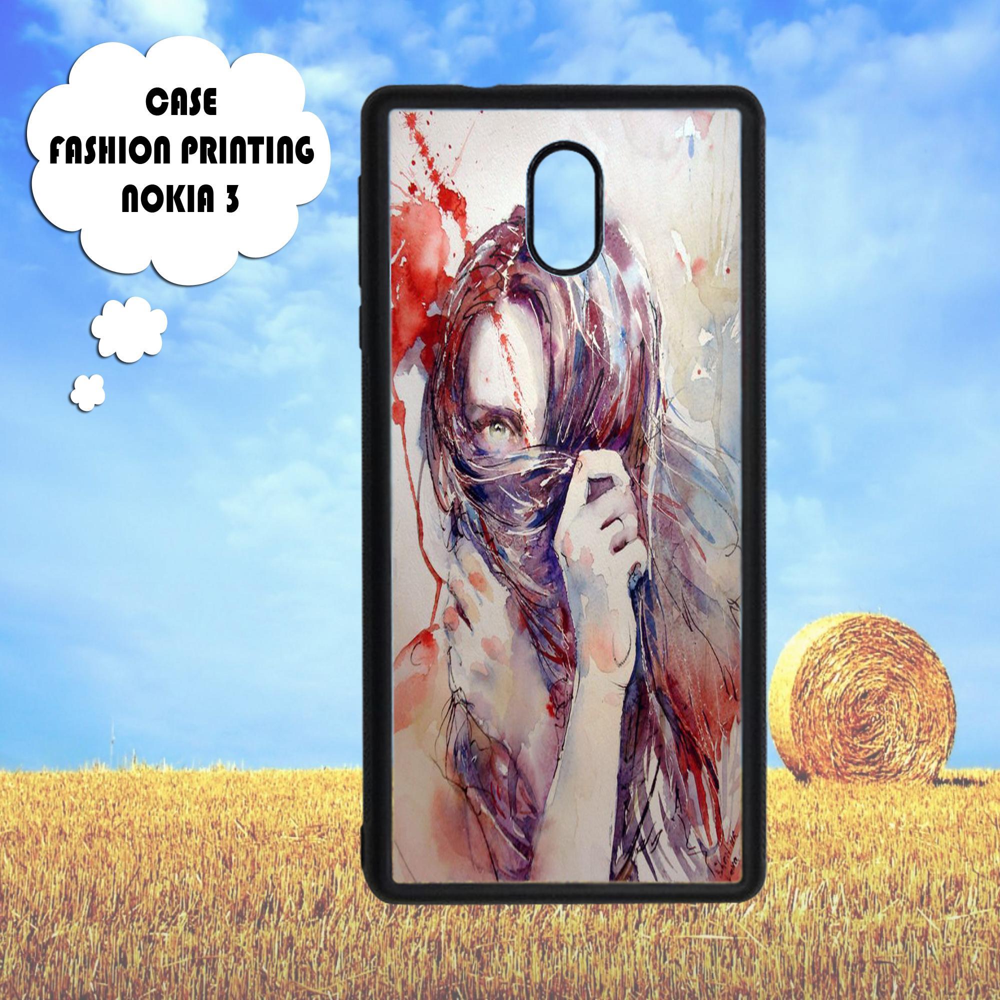 Rajamurah fasion printing case Nokia3 - 2