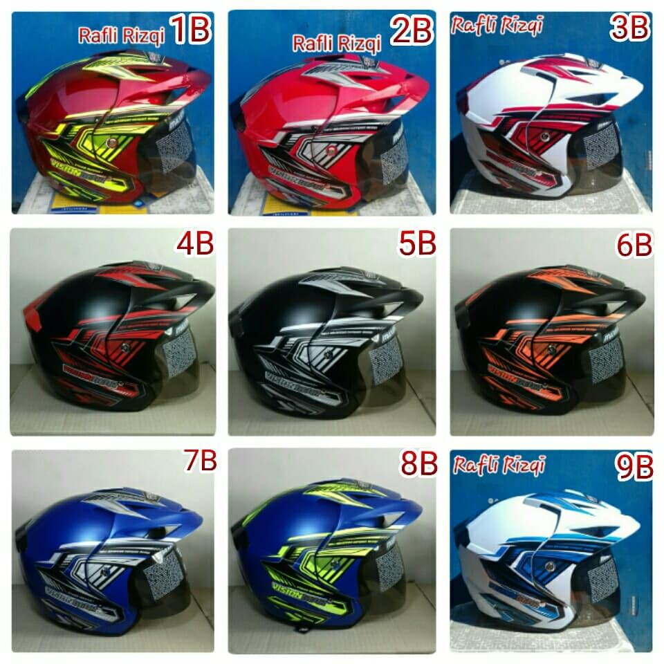 Fitur Helm Motor Sni Untuk Dewasa Pria Atau Wanita Dan Harga Terbaru Bogo Kulit 4