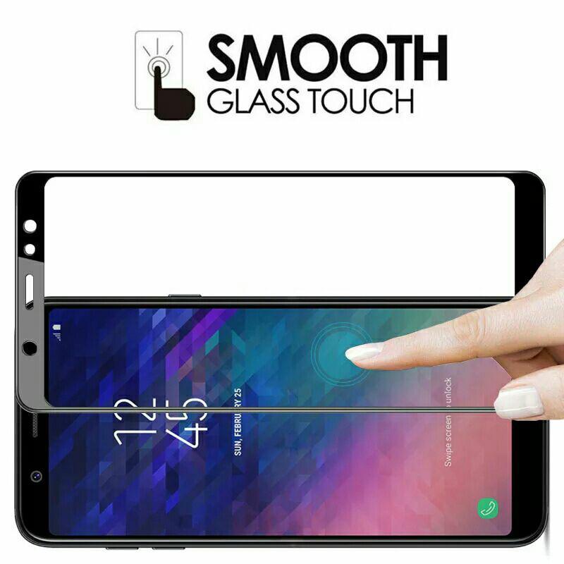 Fitur Tempered Glass Full Cover Samsung Galaxy A6 Plus 2018 Dan