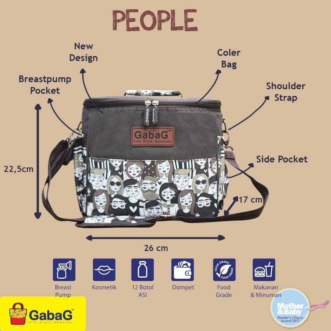 Fitur Cooler Bag Gabag Single Sling Series Free 2 Ice Gel Dan Harga Bags Radja Backpack In 1 4