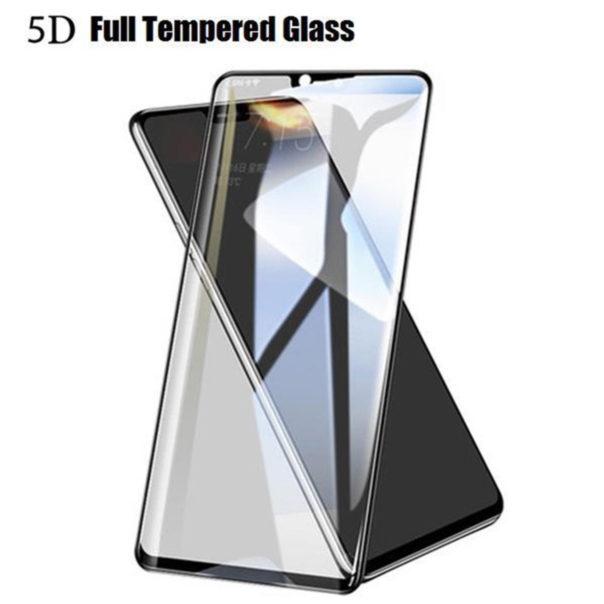 Tempered Glass 5D For VIVO V9- Full Lem & Full Screen - Black
