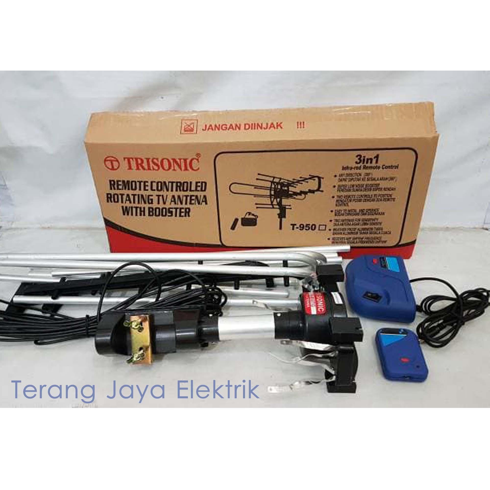 Kelebihan Antena Remote Remot Outdoor Luar Boster Booster 3 In 1 Toyosaki Tys 999 Penguat Signal Tv Trisonic