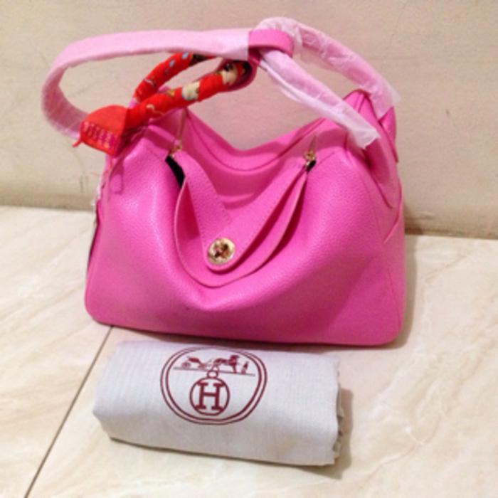 Hermes Lindy Semi Premium Pink
