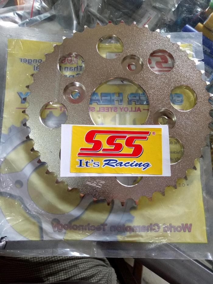 Gear Sss Susuki Gsx 150 R. Belakang Only.Cuma Belakag. Ukuran Bisa C