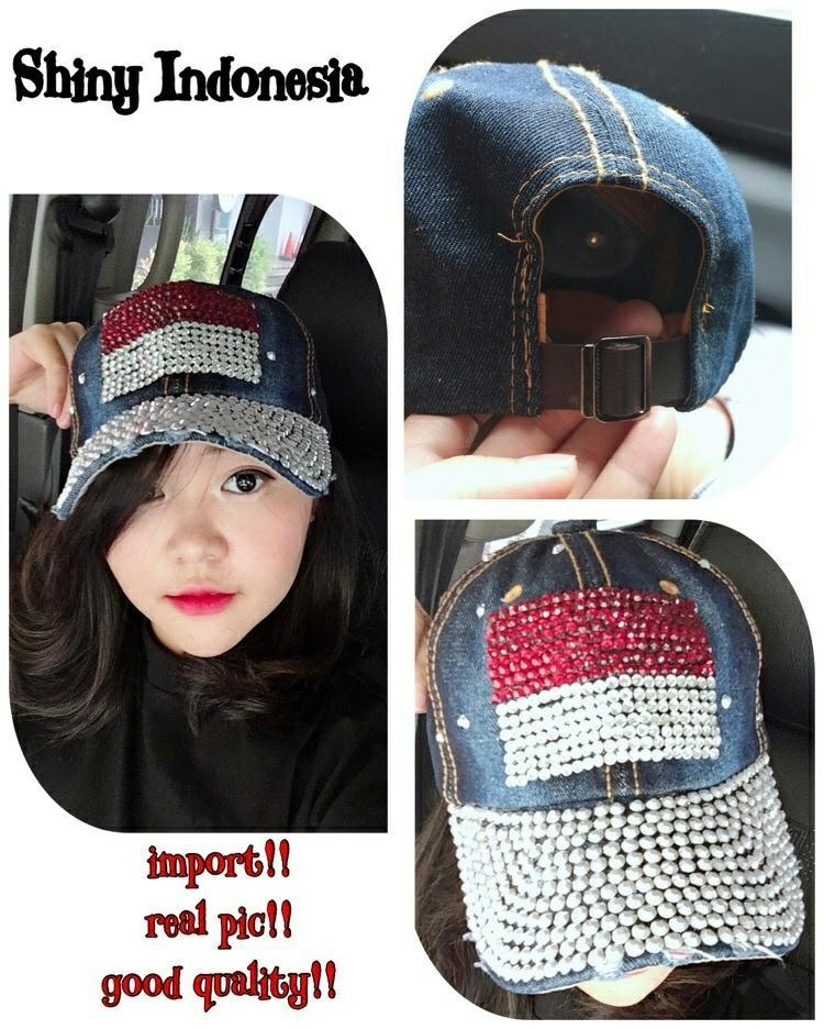 Princess Wardrobe - Topi Blink   INDONESIA    Topi Bling Bling   Topi  Fashion   5e581165cb