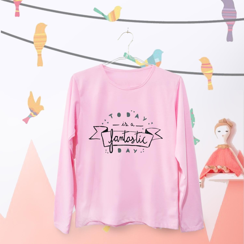 ELLIPSES.INC Tumblr Tee / T-Shirt / Kaos Wanita Today Is a Fantastic
