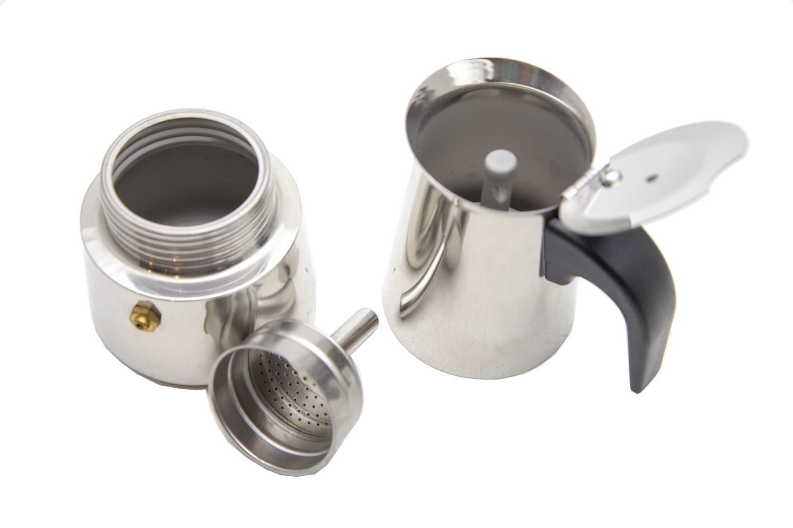 Detail Gambar HomeMaster Mocha/Moka/Espresso/Coffee/Kopi Maker Pot Teko 2 Cup 100 Ml MKHS2100 Terbaru