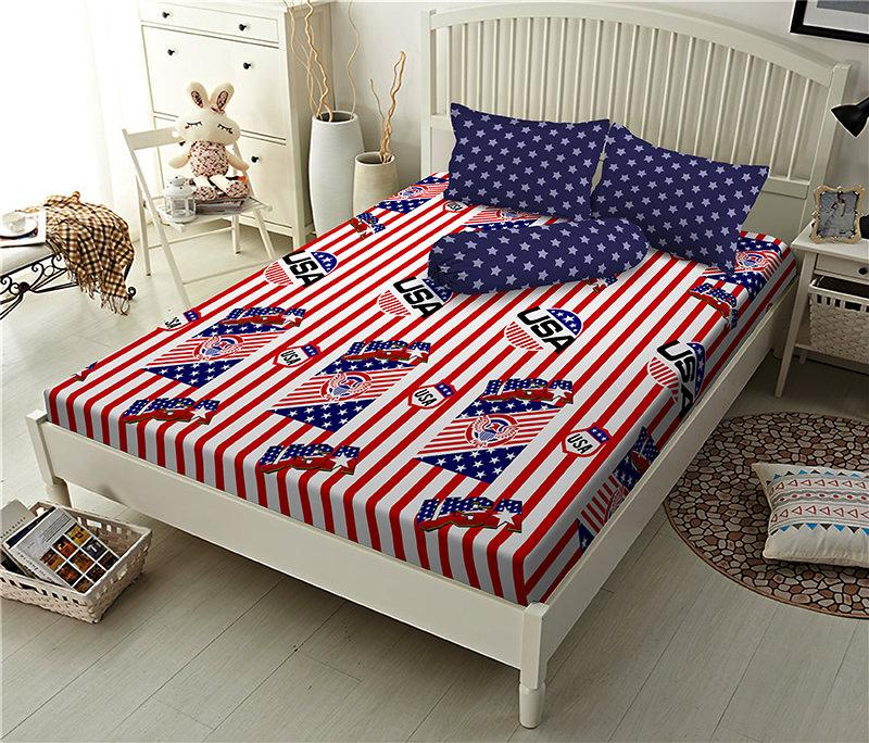 Kintakun D'luxe Sprei - 180 x 200 B2 (King) - United Flag