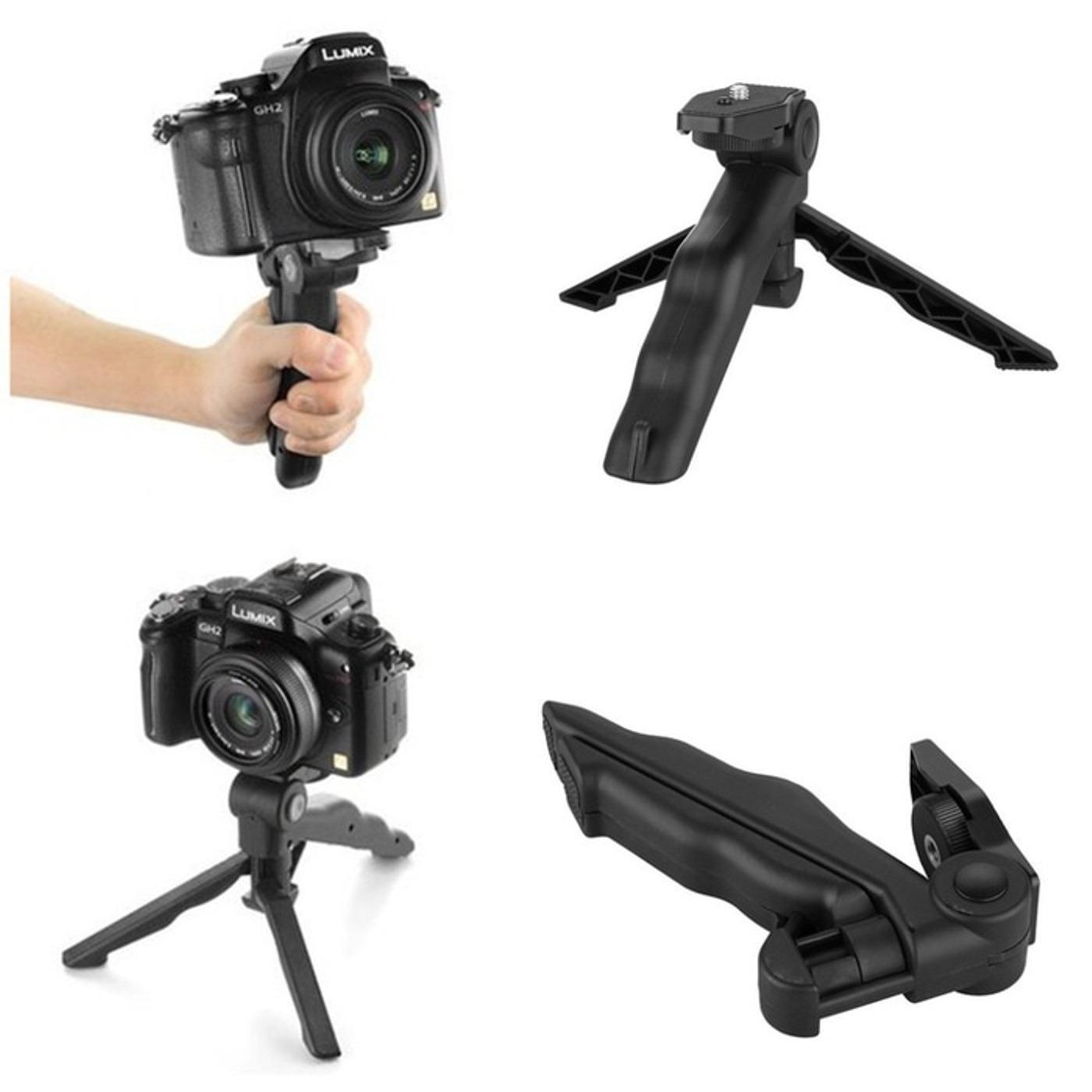 Action Cam Portable Tripod 2 in 1 GoPro YiCam Brica SJCAM