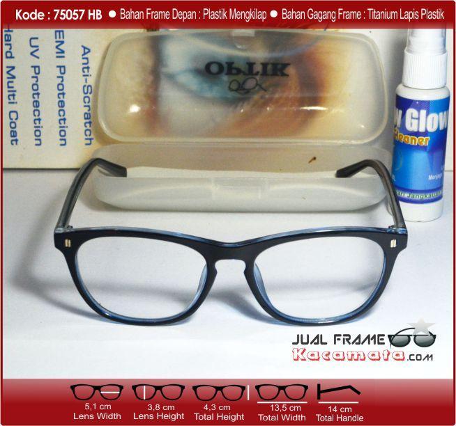 ... Kacamata Korea 75075 Model simple + LENSA ANTI RADIASI + lensa minus  plus silinder ... 4dc7247c7a