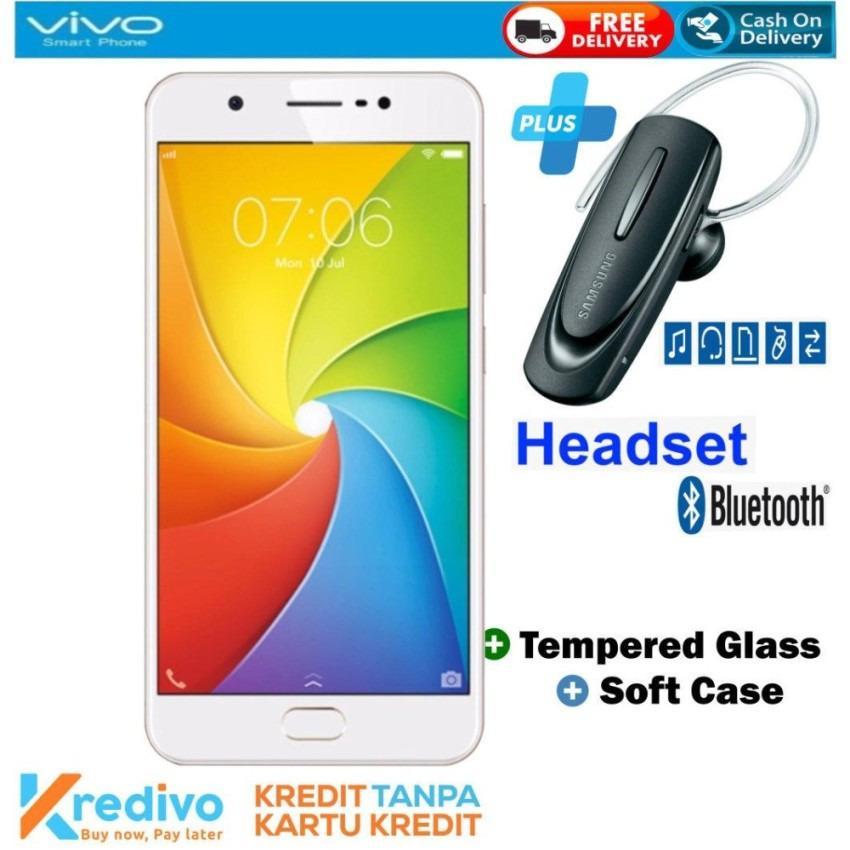 VIVO Y69 3/32 GB - Garansi Resmi Plus Headset Bluetooth Cash & Kredit