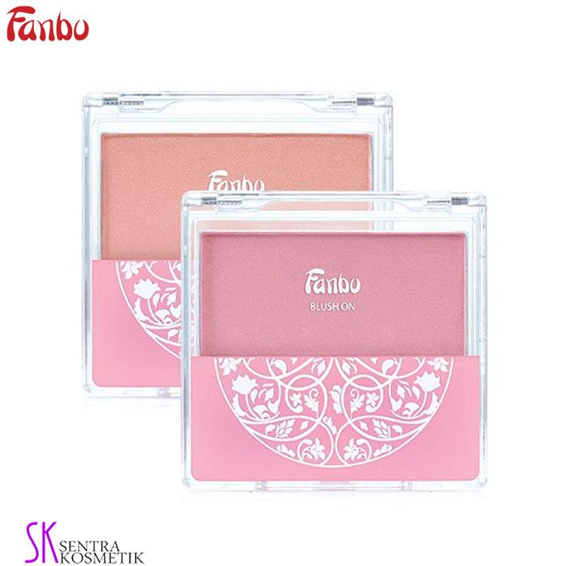Detail Gambar FANBO PRECIOUS WHITE Blush On 02 - PEACH Terbaru