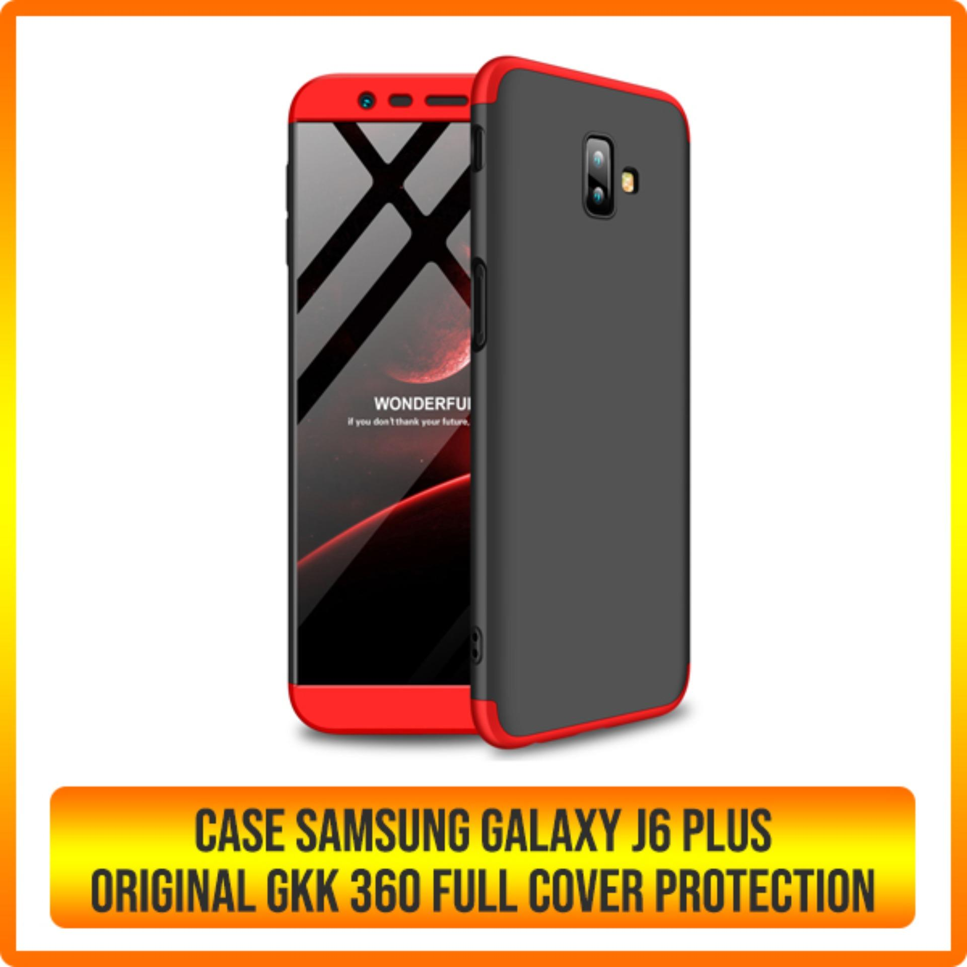 Fitur Hard Case Samsung Galaxy A8 2018 Gkk Full Cover 360 Protection