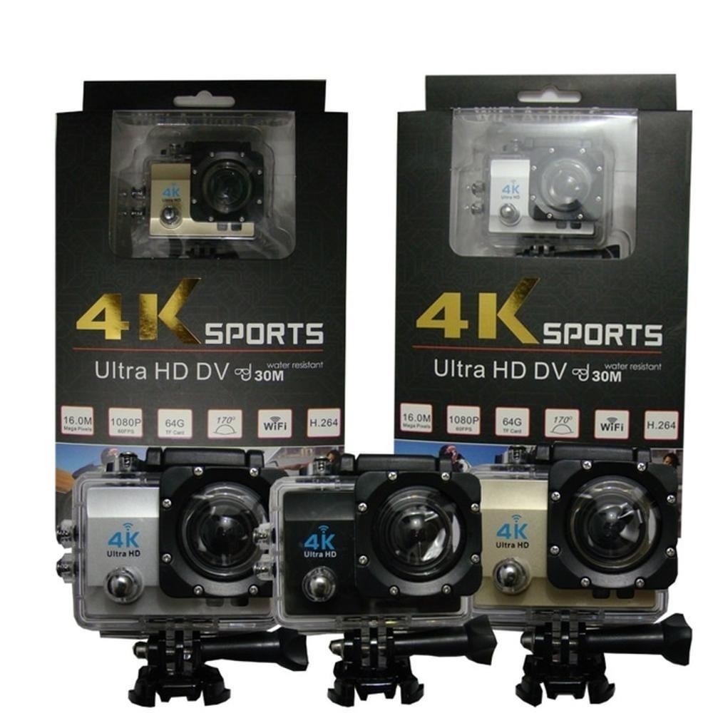 PROMO Buy 1 Get Free Sport Cam 4k Action Camera Wifi Ultra 16mp Full Hd 1080 SportCam Action Go ShoppingNow