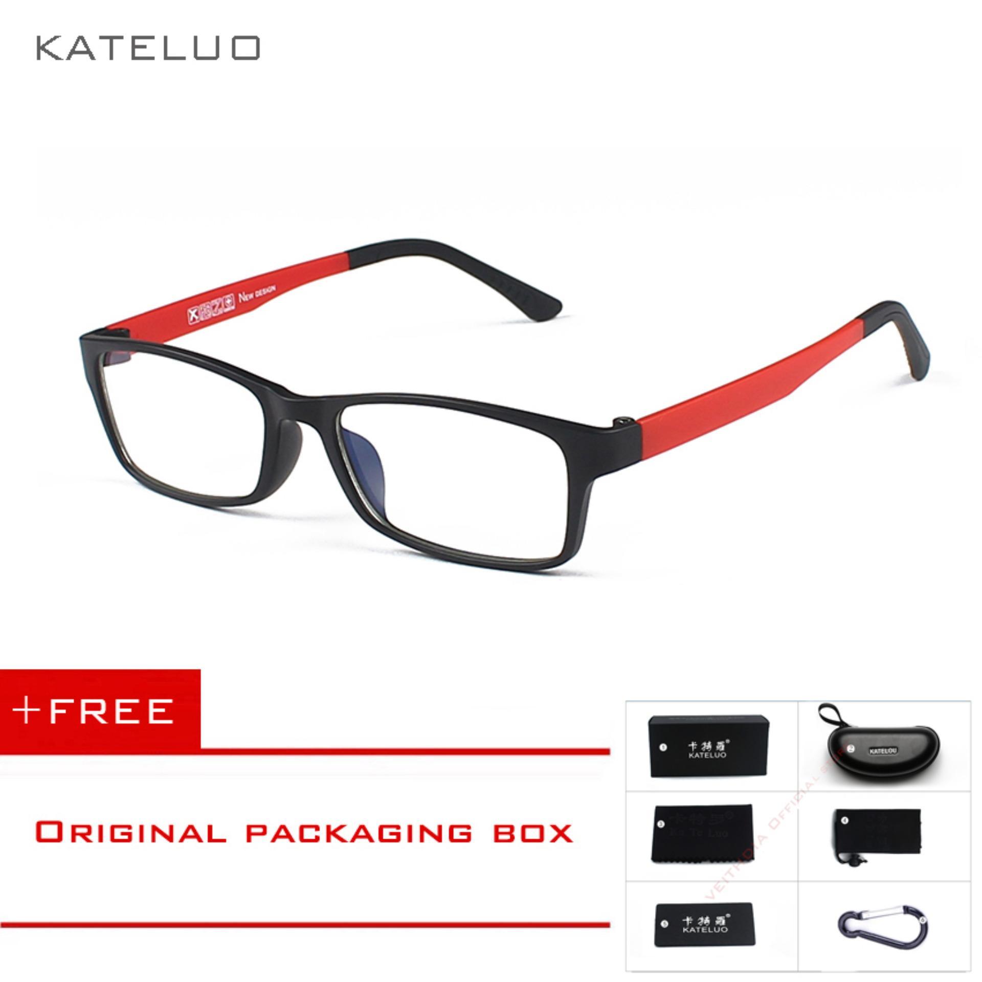 KATELUO Kacamata Radiasi Kacamat Komputer Anti Lelah Untuk Pria Wanita 1302 8a51d30f10