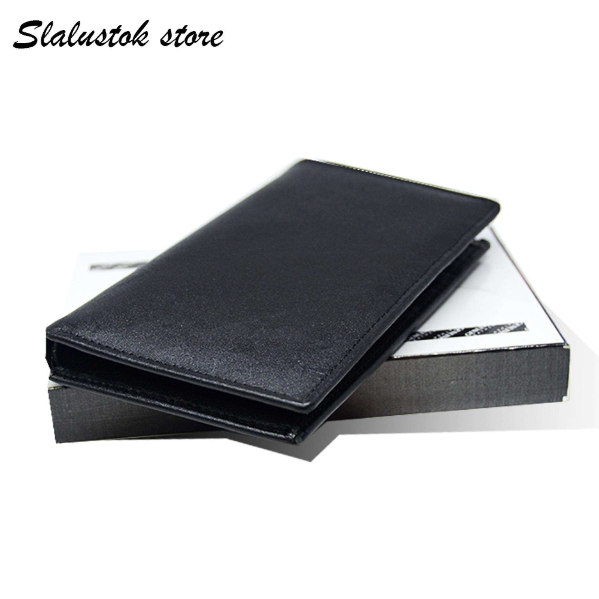 SlaluStoke Store - Fashion Dompet Pria Berdiri 3/4 Limited Edition Kulit Asli 100%