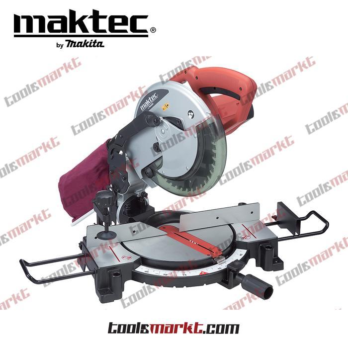 ORIGINAL - Maktec MT230 Mesin Gergaji Kayu Duduk Aluminium Miter Saw MT 230
