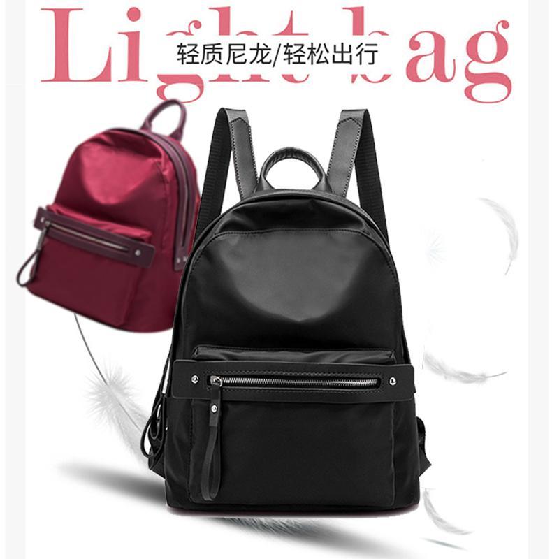 Large Backpack Nylon Tas Ransel Fashion Wanita Multifungsi AR07 - Atdiva