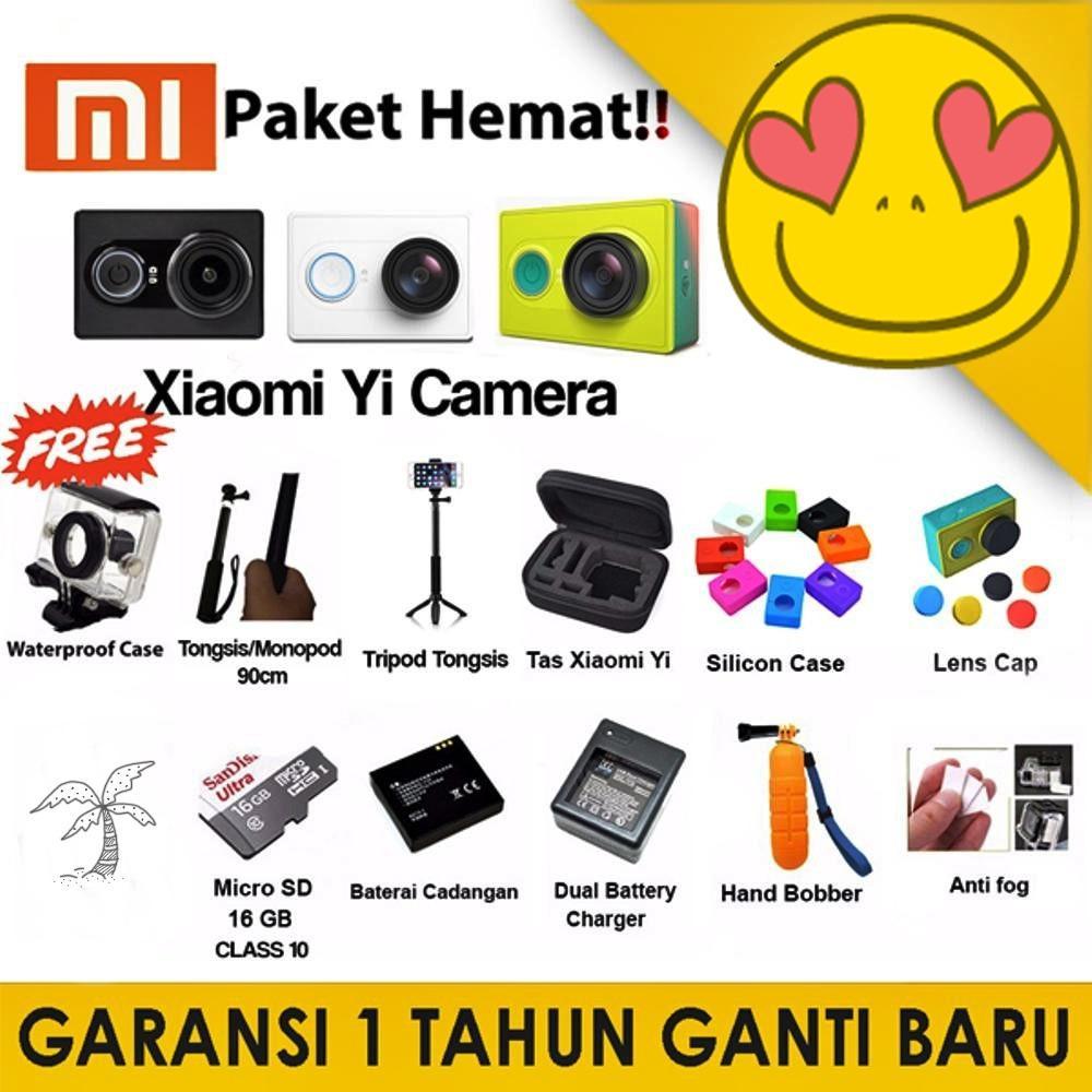 Jual Xiaomi Yi Paket Hemat Free Accesories Best Seller Xiaomi