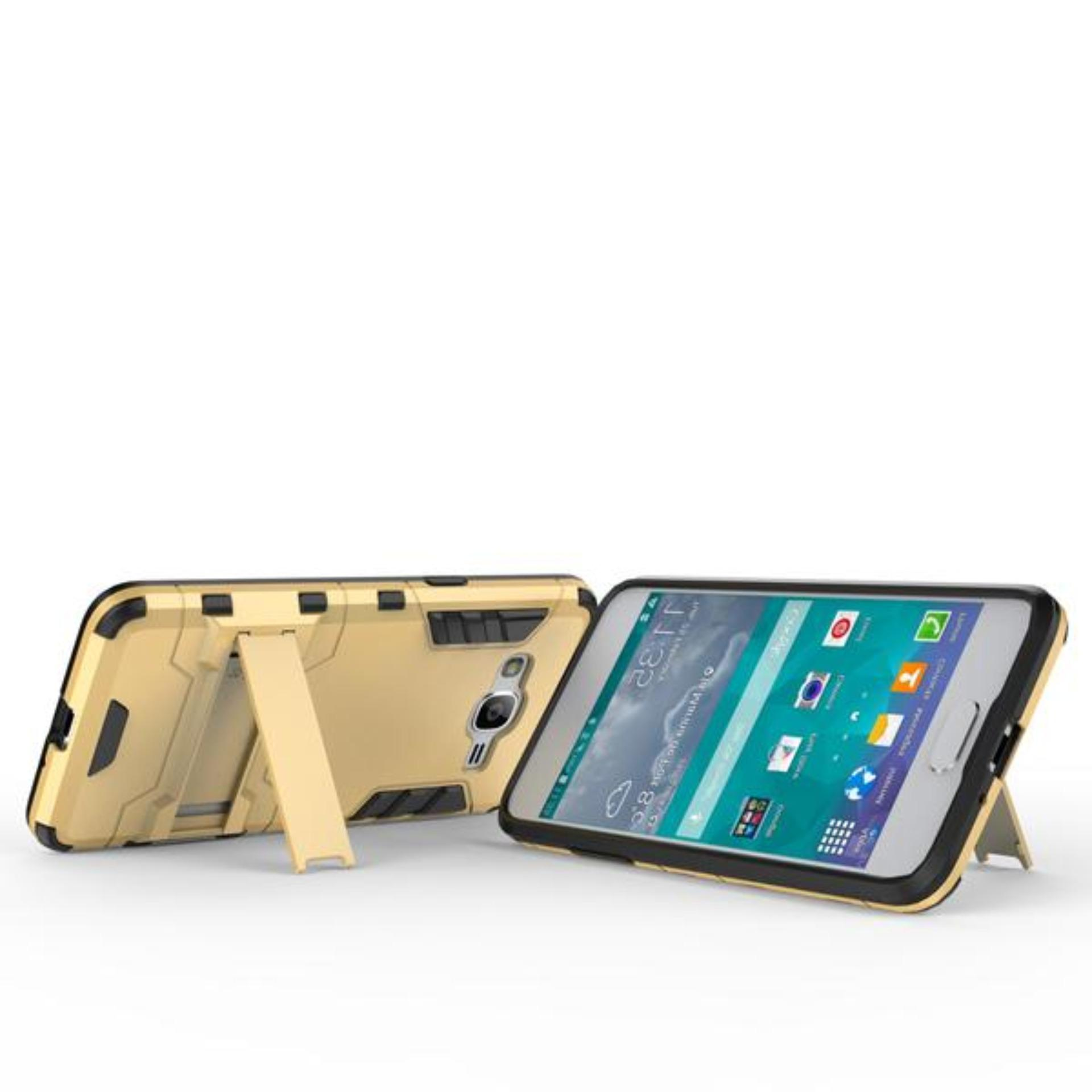 ... CASE EXECUTIVE IRON MAN 2 IN 1 ROBOT WITH STAND FOR SAMSUNG GALAXY J2 PRIME -