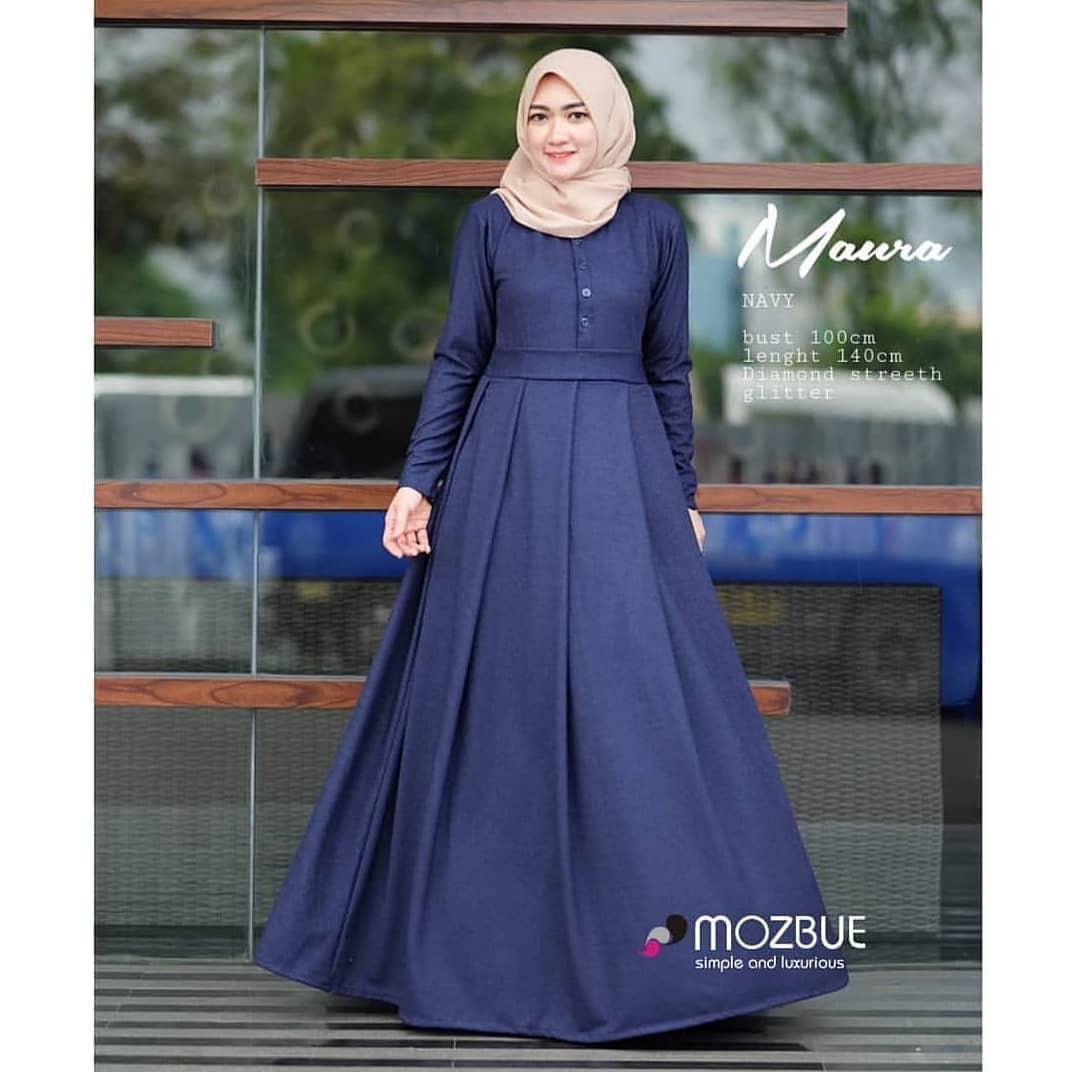 Features Donna Long Dress Baju Gamis Wanita Baju Gamis Wanita