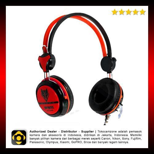 Nubwo Sport Stereo No.040 Gaming Headset (Merah)