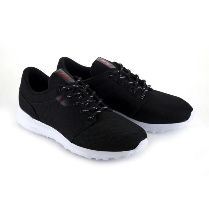 Sepatu Casual Piero Original Rush Black Red White Murah - Aa4ye5