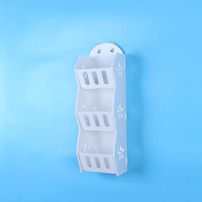 MH518 Storage Decorative Rack Shabby chic rak dinding make up kosmetik hp remote multifungsi serbaguna portable import