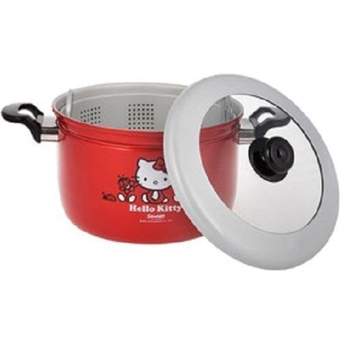 ... Panci Kukus + Tutup Kaca Hello Kitty Maspion - Merah - 3