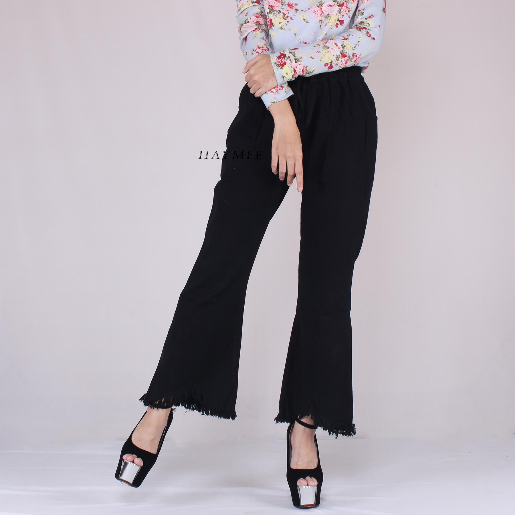 Kehebatan Celana Cewek Cutbray Dan Harga Update Teknologi Polos Haymeestore Boyfriend Wanita Jeans Cutbrai Denim Cewe Bawahan Premium