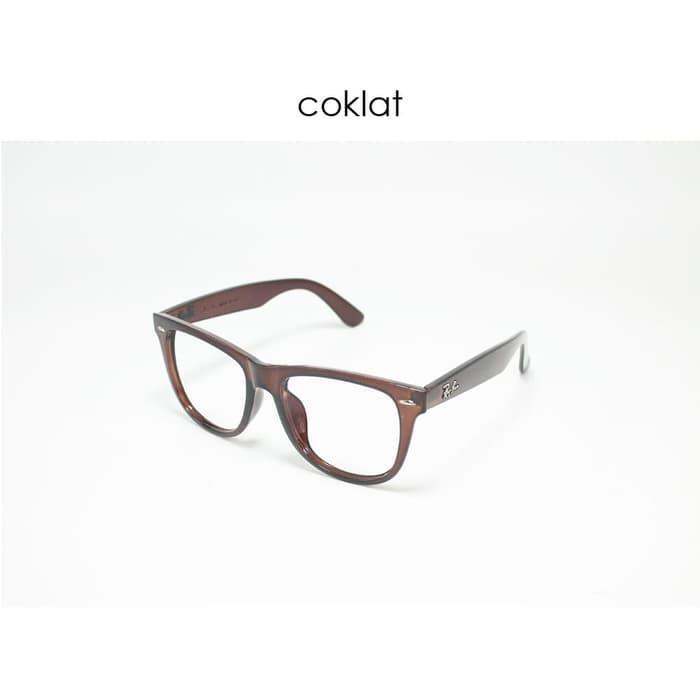 Frame Kacamata Minus Rayban Wayfarer Pria Wanita - ready stock Terbaru f894102e86