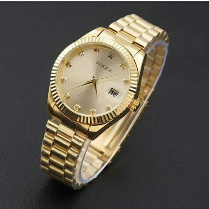 jam tangan rolex wanita / jtr 763 gold