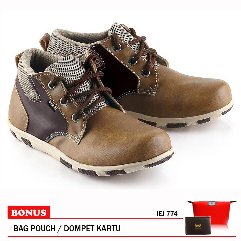 Infikids Sepatu Anak Cowo IEJ 774 Brown