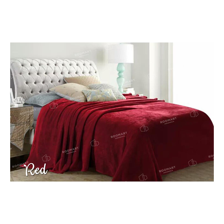Jual Grosir Selimut Super Soft Panel Motif Karakter Ukuran 150 X Akiko Sutra 150x200 Frozen Polos Merah