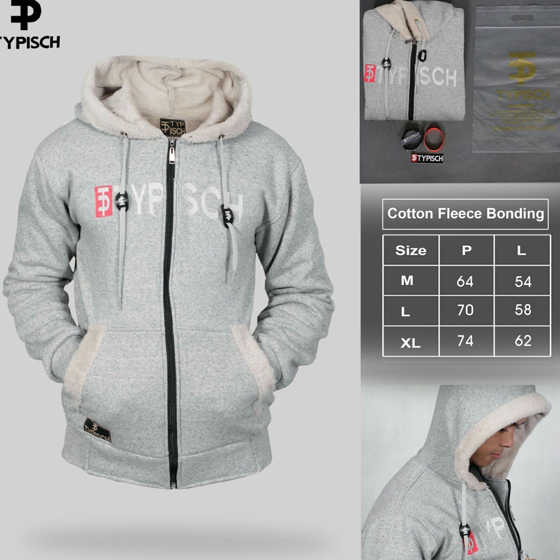 Je Fashion Pria Jaket Sweater Polos Hoodie Zipper Biru Dongker Jumper Turkis Source Typisch