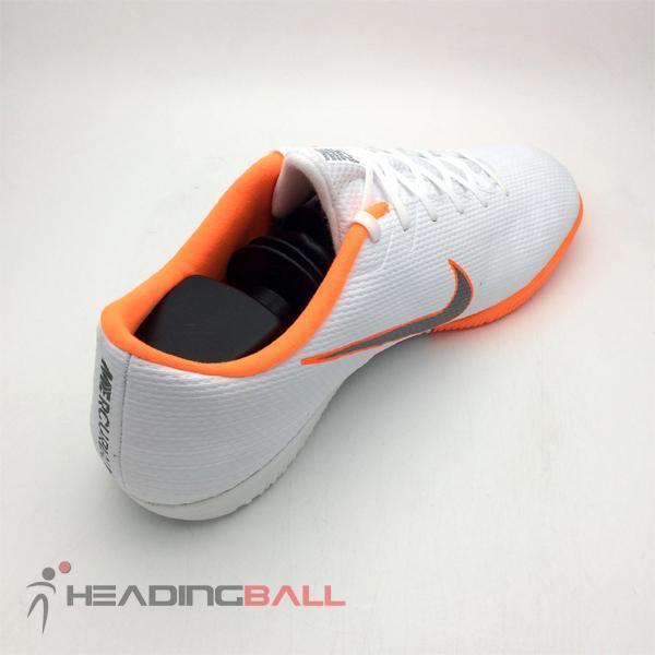 Detail Gambar Sepatu Futsal Nike Original Vapor 12 Academy IC White  AH7383-107 BNIB Terbaru f4edc6f7a0